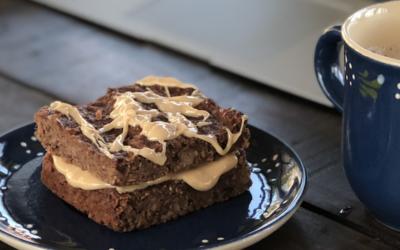 Banana Bread Squares (vegan, gf)